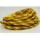 """Papiergaren """"Twee kleuren"""" 5 meter - geel (012)"""