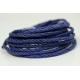 """Papiergaren """"Twee kleuren"""" 5 meter - donker blauw (007)"""