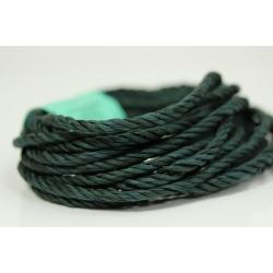"""Papiergaren """"Twee kleuren"""" 5 meter - donker blauw/groen (029)"""