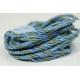 """Papiergaren """"Twee kleuren"""" 5 meter - licht blauw (025)"""
