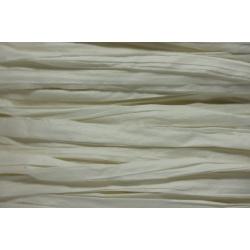 Papierband 15 meter - wit gebleekt (001)
