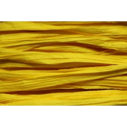 Papierband 15 meter - geel (012)