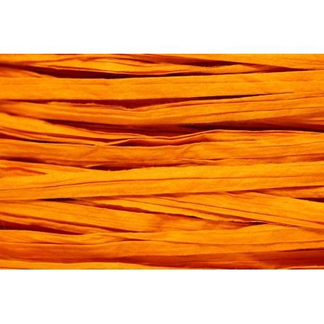 Papierband 15 meter - oranje (031)