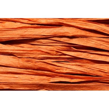 Papierband 15 meter - oranje (130)