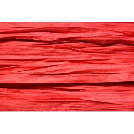 Papierband 15 meter - rood (022)