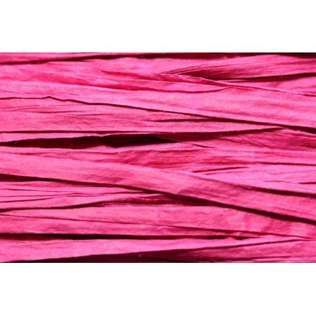 Papierband 15 meter - magenta (019)