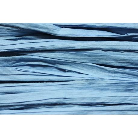 Papierband 15 meter - licht blauw (025)
