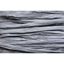 Papierband 15 meter - grijs blauw (009)