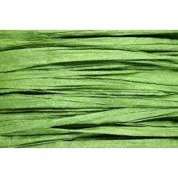 Papierband 15 meter - donker groen (023)