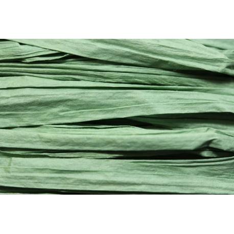 Papierband 15 meter - licht groen (014)