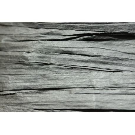 Papierband 15 meter - zwart (018)