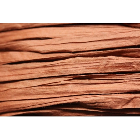 Papierband 15 meter - bruin (017)