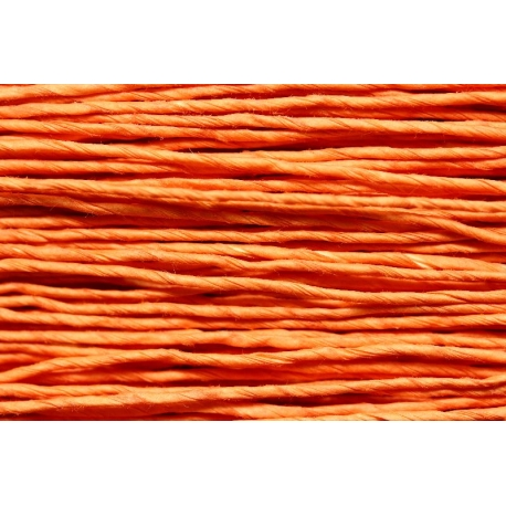 "Papiergaren ""Dun"" 100gram - oranje/roze (027)"