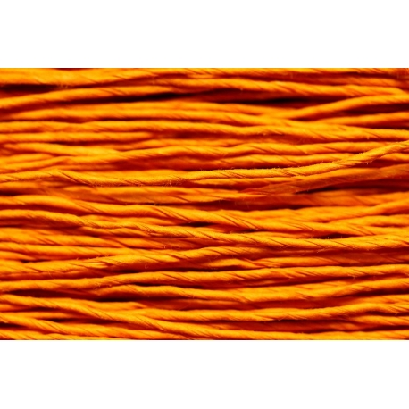 "Papiergaren ""Dun"" 100gram - oranje (031)"