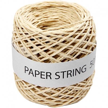 Papierkoord - naturel