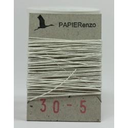 linnen draad No. 30 - wit (5 meter)