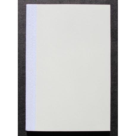 Boekblok 10x15 cm - blanco