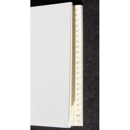 Boekblok 7x10,5 cm - adres