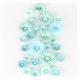 3D Bloemen Quilling pakket - Turquoise