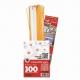 3D Bloemen Quilling pakket - luxe - wit/geel
