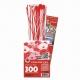 3D Bloemen Quilling pakket - luxe - rood/wit
