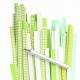 Filigraan papier groen/wit/blauw - 5 mm