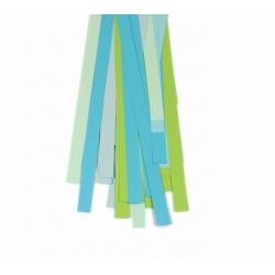 Filigraan papier groen/blauw - 15 mm