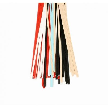 Filigraan papier diverse kleuren - 15 mm