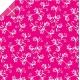 Origami papier 15x15 cm - dubbelzijdig roze/wit