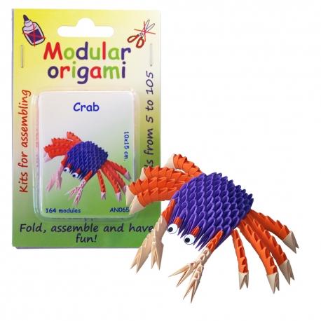 Origami 3D - Krab