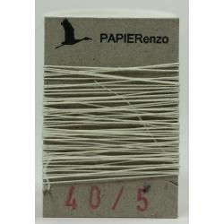 linnen draad No. 40 - wit (5 meter)