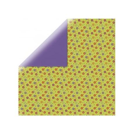Origami papier 15x15 cm - dubbelzijdig bloemen