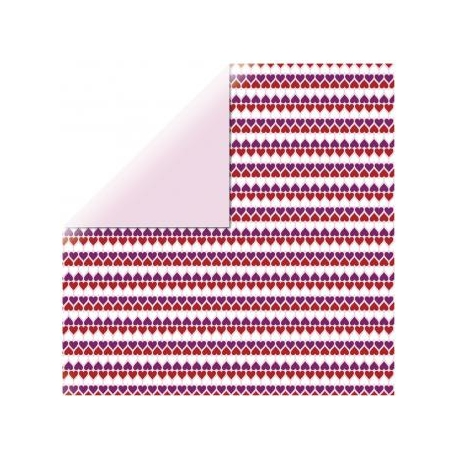 Origami papier 15x15 cm - dubbelzijdig harten