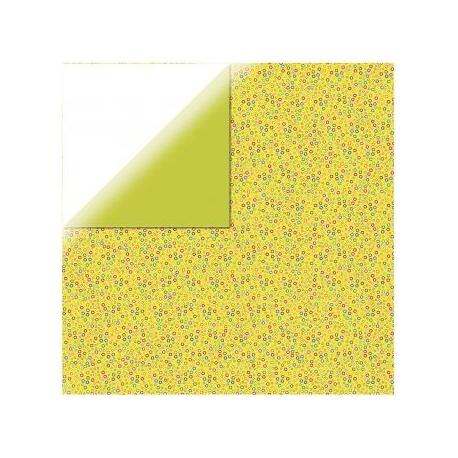 Origami papier 15x15 cm - dubbelzijdig cirkels