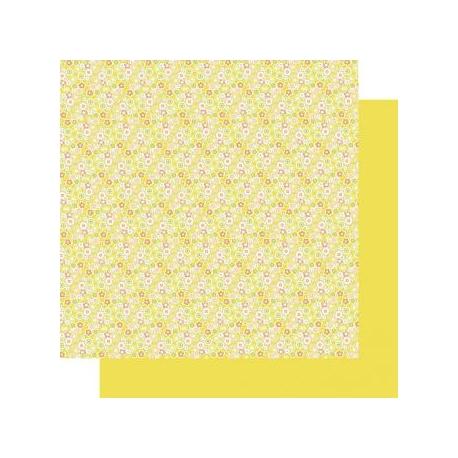 Origami papier 15x15 cm - dubbelzijdig zomerse weide