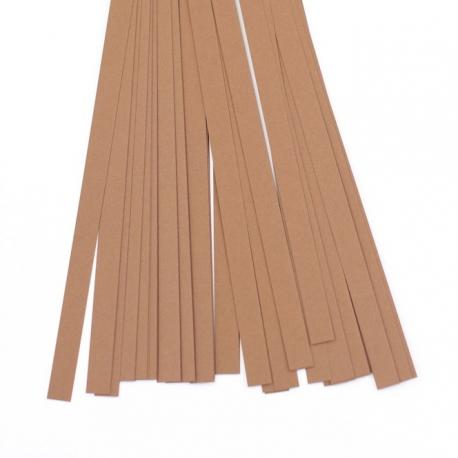 Filigraan papier - 10 mm - donker bruin