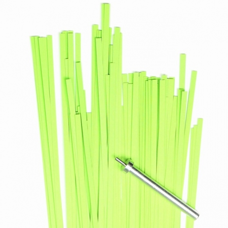 Filigraan papier - 3 mm - lime groen