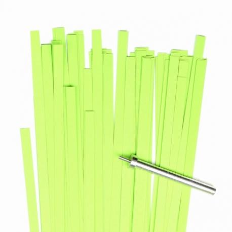 Filigraan papier - 5 mm - lime groen