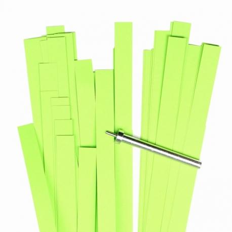 Filigraan papier - 10 mm - lime groen