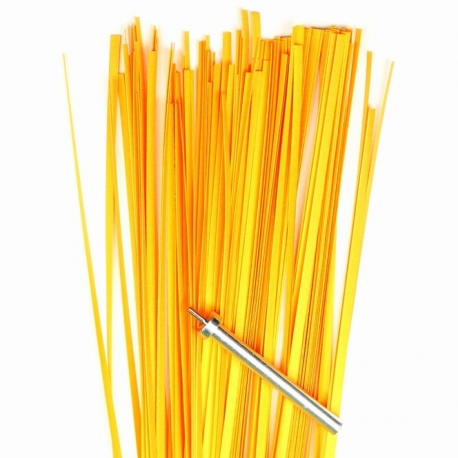 Filigraan papier - 3 mm - geel