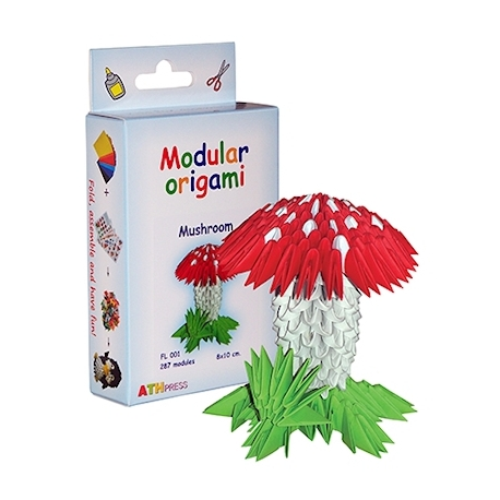 Origami 3D - Paddestoel
