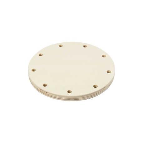 Basis voor gevlochten mand - 12 cm