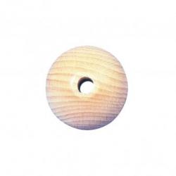 Houten kralen - blank - 80 mm