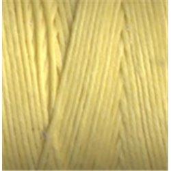 gewaxt linnen 18/4 - citroen geel (5 meter)