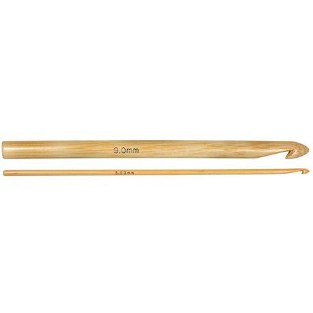 Bamboe haaknaald - 9 mm