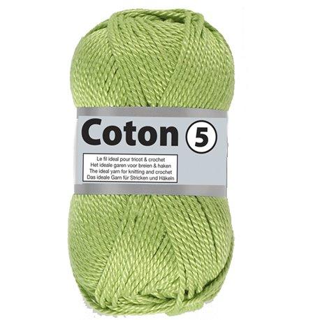 Coton 5 - fris groen (071)
