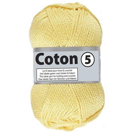 Coton 5 - geel (510)