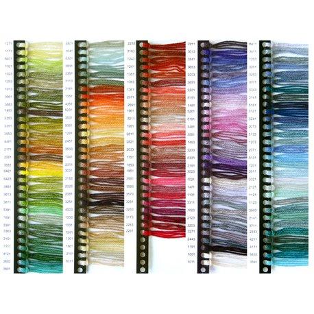 Kleurenkaart Rya - 146 kleuren