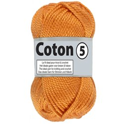 Coton 5 - oranje (041)