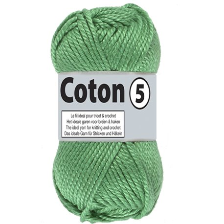 Coton 5 - groen (045)
